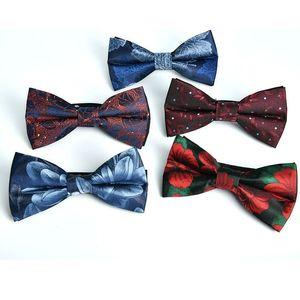 Shennaiiwei 6 cm hombres pajarita para hombres camisa corbata boda mariposa para hombre regalo muchachos bowtie