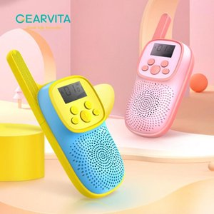 Walkie Talkie Children's 2PCS Handheld Transceiver 3KM Range Child Gift Educational Toys Radio Camping Wireless