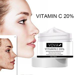 VOVA Vitamin C Freckle Cream Remove Melanin Color Patch Plaque Spots Removal Brighten Pigment Moisturizing Whitening Skin Care