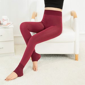 Estilo caliente Pearl Leggings Mujeres Un pedazo de pan Herf e invierno Slim Fit High Thigh Thigh Plus Flowers Hot Broek Groo