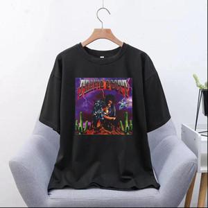 Travis Scott Hot Sauce Women Short Sleeve Graphic Tees Tops Vintage T Shirts Vincent Aesthetic Tshirts Men Harajuku