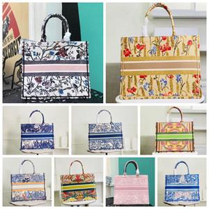 5A 2021 أعلى جودة الفضلات النساء الرجال الكلاسيكية الملونة كتاب حقائب اليد حقيبة مصمم حقيبة حقيبة حقيبة سفر كبيرة أكياس التسوق