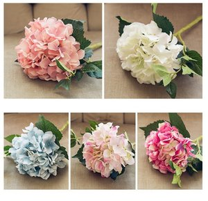 6 Colors Silk Flower 46cm Wedding Decorations Artificial Flowers Home Hotel Party Wedding Celebration 46cm Hydrangea Flower
