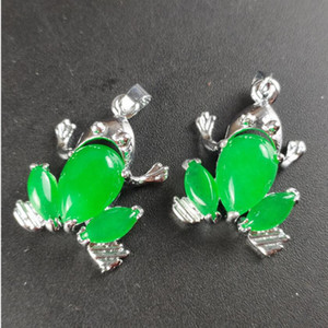 Natural Malay Jade Frog Pendant Free Delivery