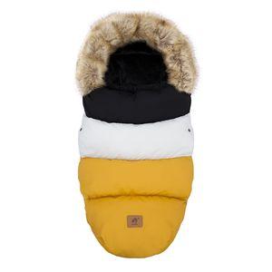 Sleeping Bag Baby In Stroller Winter Thicker Envelopes 0-24Months Pram Footmuff For Outing Sleepsack Changing Diaper 90Cm 210913