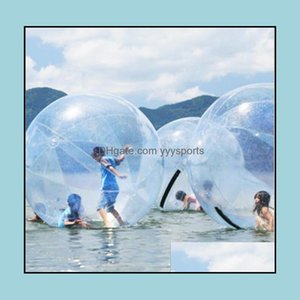 & Outdoors1.3 1.5M 1.8M 2M Inflatable Walking Pvc Zorb Walk Balls Dancing Sports Water Rolling Ball Drop Delivery 2021 R7Uxz