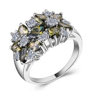 Factory Jewelry zircon hand rings women's creative gifts 0L38
