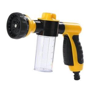 Pistola de agua espuma de nieve lanza portátil automático de alta presión 3 grado boquilla chorro lavavajillas lavandería pulverizador herramienta de limpieza automóviles lavado