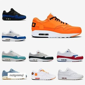 Tokyo Maze Bred 1s men women shoes Maxes 1 Anniversary royal Patch Atomic Teal Parra Puerto Rico 87 mens trainers sports sneakers 36-45
