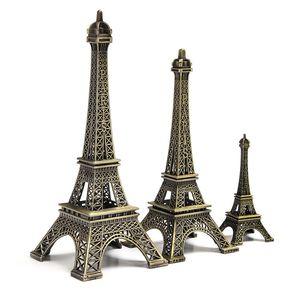 18 سنتيمتر برج إيفل تزيين المنزل البنود خمر نموذج معدني الحديد الإبداعي الديكور الحديثة صور الاصطناعية الدعامة الحرف
