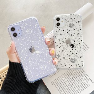 Cute Outer Space Planet Phone Case For Xiaomi Redmi Note 10 9 8 Pro Note 7 9s For Mi 8 9 lite 9t A3 POCO X3 Soft Back Cover Capa