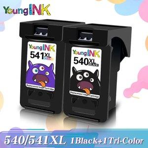 Ink Cartridges YOUNGINK PG 540 CL 541 540XL 541XL Black&Color Cartridge PG-540 CL-541 For Canon MG2250 MG3150 MG4150 MX375 MX395 Printer
