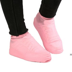 Yaz Antiskid Su Geçirmez Yağmur Ayakkabı Çizmeler Kapak Su Oynama Ayakkabı Antiskid ve Yağmur Geçirmez Ayakkabı Kapak 2 adet / Çift HWE7256