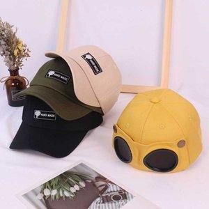 الطيار قبعة الوالدين النظارات الطفل كاب الرجال والنساء النظارات الشمسية قبعة بيسبول الأطفال شخصية شخصية موضة