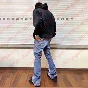 Mens Designer Jeans Gallery Dept Remake Retro High Street Jeans Fashion Brand Classic Denim Pants Slim Flare