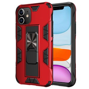 2020 new magnetic Kickstand Caseand with kickstand case Hybrid Heavy Duty Back Cover For iPhone 7 8 X XS MAX 11 11 Pro 11 Pro Max