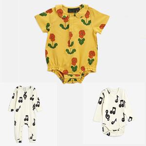 ENKELIBB Mode Design Baby Kurzarm Strampler für Sommer Jungen und Mädchen Kleidung Q0201