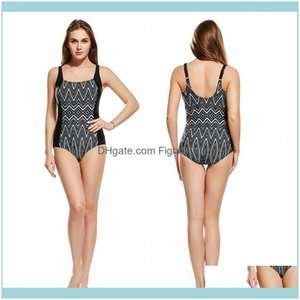 Two-Piece Swimming Equipment Sports & Outdoorsprint Clingy Plus Size Swimsuits Spring Beach Bathing Suit Slim Swimwear One-Piece Suits With