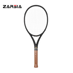 2021 Zarsia Customs Black Tennis Racquets 100 % 흑연 테니스 라켓 300g 41 / 4,43 / 8,41 / 2 무료 배송