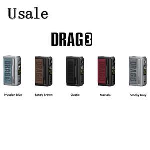 VOOPOO Drag 3 Mod 177W TC Box with Gene. Fan 2.0 Chipset High Burst Super Mode Vape Device 100% Original