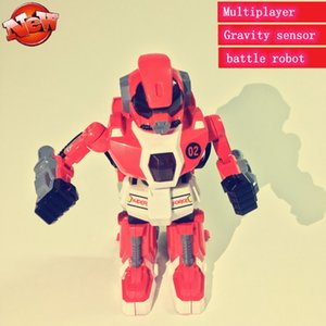 New intelligent smart battle robot 2.4G Remote Control Battle Robots Novelty Competitive Multiplayer LED lights kid gift toys