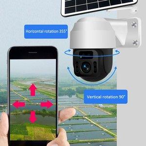 4G SIM WIFI Solar Panel Camera 2MP HD Security Monitor Outdoor 1080P Smart Home Surveillance Solar ip Camera 4G version only EU1