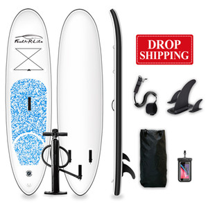 US Free Shipping Drop Shipping Funwater 305*76*15cm paddle stand up inflatable surfboard water sport surf board