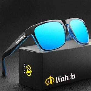 Viahda box ao ar livre óculos de sol de esportes polarizados
