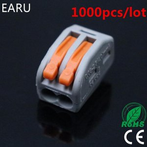 Voltage Meters 1000pcs For Russian 222-412 PCT-212 Universal Compact Wire Wiring Connector 2pin Conductor Terminal Block Lever 0.08-2.5mm2