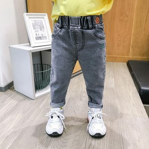 Jeans Autumn Spring Baby Boys Pants Kids Clothes Cotton Casual Children Trousers Denim 2-7Year