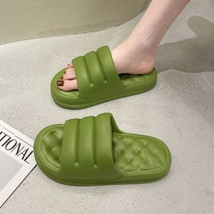 Excellent Sofa Sandal's Summer Thick Bottom Excrement Feeling Super Soft Couple Bathroom Anti-skid Household Indoor Women