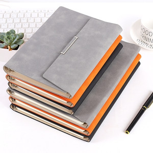 Retro Creativity Gift Box Leather Bible Trave Journal Notepad Folder Notebook A5 Diary Weekly Agenda Planner Notebooks T200727