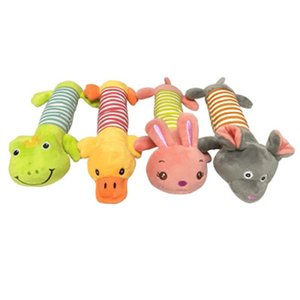 Dog toys molars vocal stripes wholesale plush long strips pet bite resistant vocal toys pet plush toys