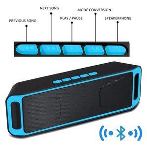 Haut-parleur Bluetooth portable 10W haut-parleurs SC208