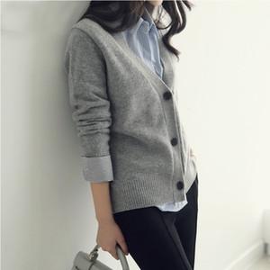 2021 Soft New Cashmere Women Sweater Autumn Winter Jacket Jumper Pull Femme Hiver Streetwear Cardigan f J8IW