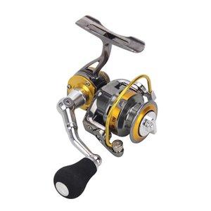 Baicasting Bobines 5.0: 1 Mini Roublure à filer 3 + 1 Roulements à billes Full Métal Pêche à la glace BFS