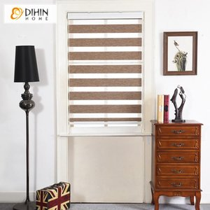 Blinds Modern Design High Quality Horizontal Blackout Double Layer Day And Night Windows Zebra Roller