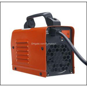 Zx7-250 250A Mini Electric Welding Machine Portable Digital Display Mma Arc Dc Inverter Plastic-Welder Weld Equipment Durable Bbyixew Yexcj
