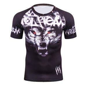 Estate 3D Compression T Shirt Uomo Nuovo Arrivo Brand Divertente T-shirt da uomo T-shirt da uomo Top all'ingrosso Tee Shirts Alta qualità Asciugatura rapida