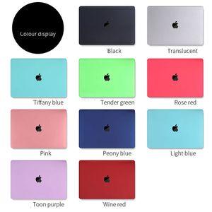 Protección de la caja fuerte transparente de cristal para MacBook Air Retina Pro 15 16 Touch Bar A2251 A2289A2159 A1706 13 A1932