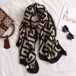 female spring and autumn fashion winter super large shawl versatile thin cotton linen silk Scarf