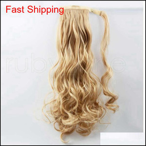 Ponytail Synthetic Hair Clip In Pony Tail Hair Ponytail Wig High Temperature False Hair Synthetic Wi qylhwd hotclipper