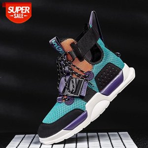 Men Basketball Culture Shoes High-Cut Breathable Wearable Fitness Sport Shoes High Top Unisex Sneakers #dW5h