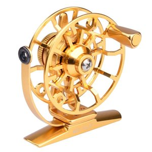 Fishing Reels CNC-Machined Large Arbor Reel 2+1BB For Trout Fishing Accessories
