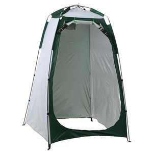 Outdoor Climbing Privacy Shelter Tent Portable Beach Shower Toilet Changing Tent Sun Rain Shelter With Window Hiking Equipment