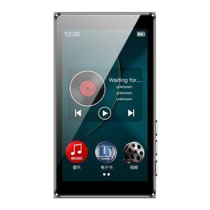 MP4-Player D20 Full Touch Screen MP3 Player 8GB Music Support FM Radioaufnahme Video mit integriertem Lautsprecher