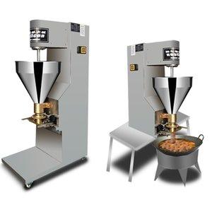 Yüksek Satış Köfte Şekillendirme Makinesi Paslanmaz Çelik Tavuk Sebze Dolum Topu Köfte Şekillendirme Makinesi 220 V 110 V