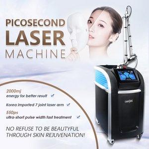Korea pico q-switch tattoo Laser Therapy 1064nm yag carbon laser peel machine 1320nm black doll treatment