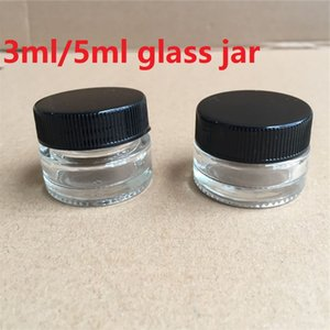 5g high quality glass cream jar with lid,5ML wide mouth cosmetic container,eye creams cosmetics packaging