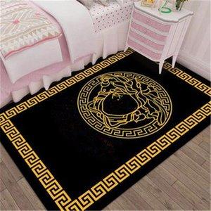 DIY fashion high quality Carpet 3D printed foot mat parlor living room rug no-slip calssic pattern Top rugs